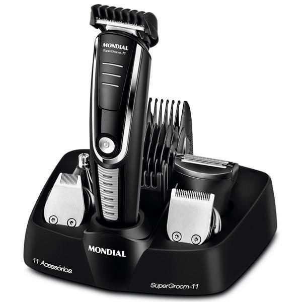 Cortador de cabello Mondial Super Groom 11 BG-05 bivolt - 0