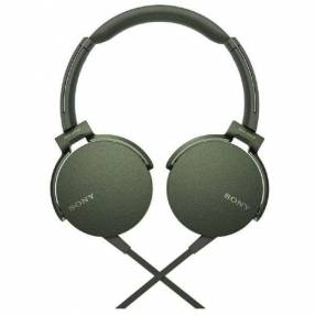 Auricular Sony MDR-XB550AP verde
