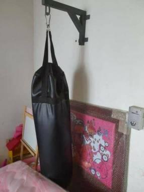 Bolsa de boxeo con protectores Everlast