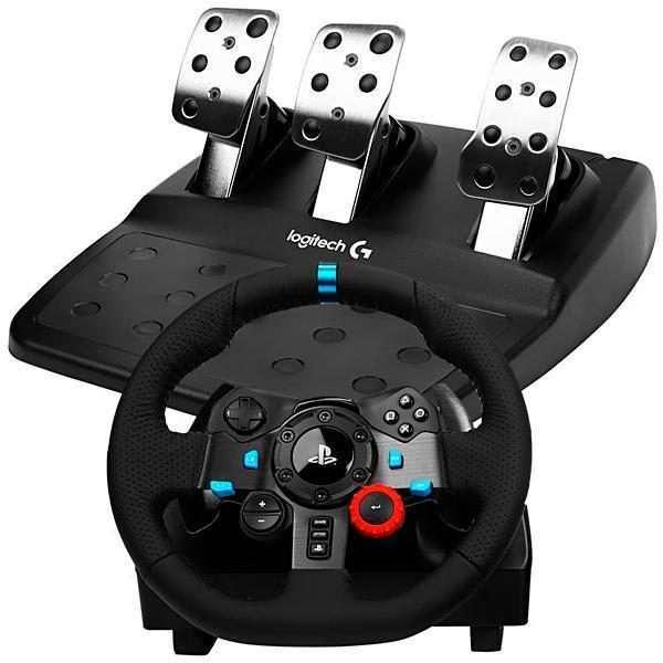 Volante Logitech Driving Force G29 para PS4 pc - 2