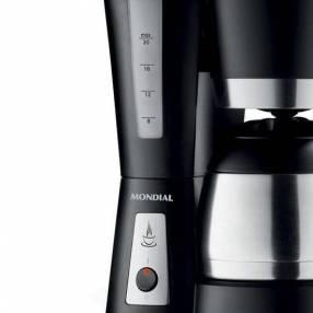 Cafetera Mondial Bella Arome Thermo C-17 negro 800W