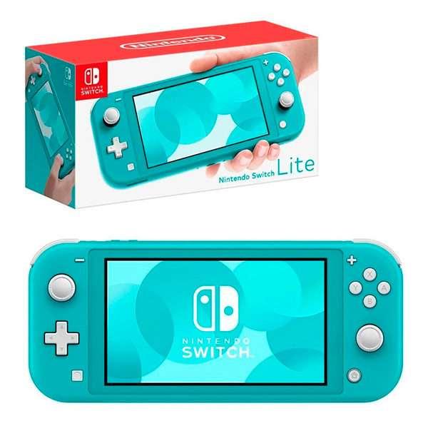 Consola Nintendo Switch Lite turquesa - 0