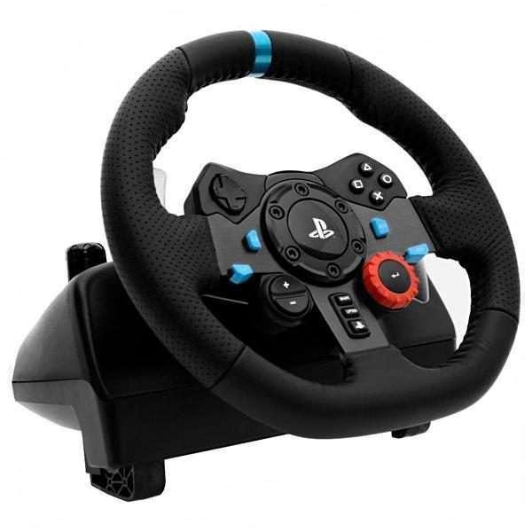 Volante Logitech Driving Force G29 para PS4 pc - 1