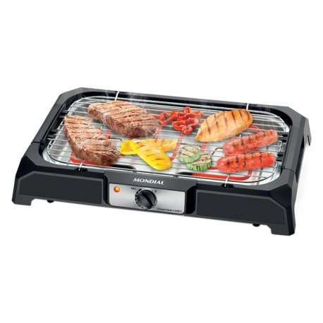 Parrilla eléctrica Mondial CH-06 Grand Steak and Grill II 2000W - 0