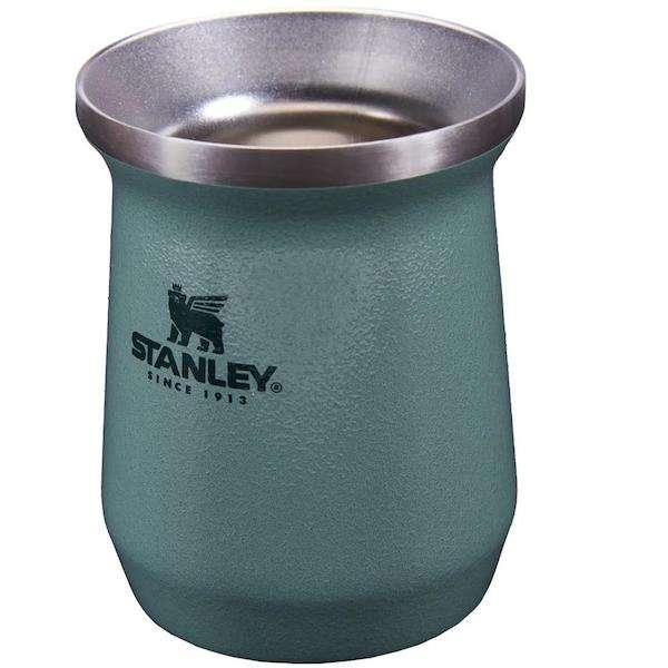 Combo Termo Stanley Classic 1 litro azul noche y matero - 0