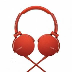 Auricular Sony MDR-XB550AP - Rojo