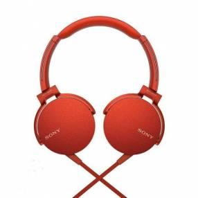 Auricular Sony MDR-XB550AP rojo