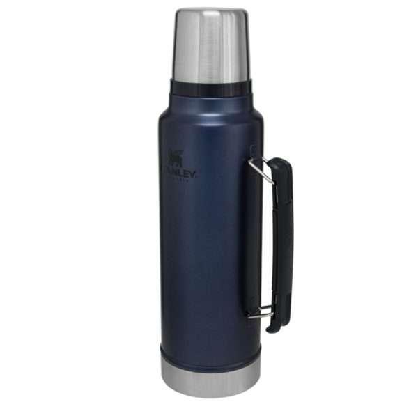 Combo Termo Stanley Classic 1 litro azul noche y matero - 2