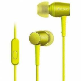Auricular Sony MDR-EX750AP - Amarillo