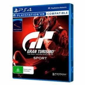 Juego Gran Turismo Sport VR para PS4