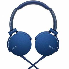 Auricular Sony MDR-XB550AP azul