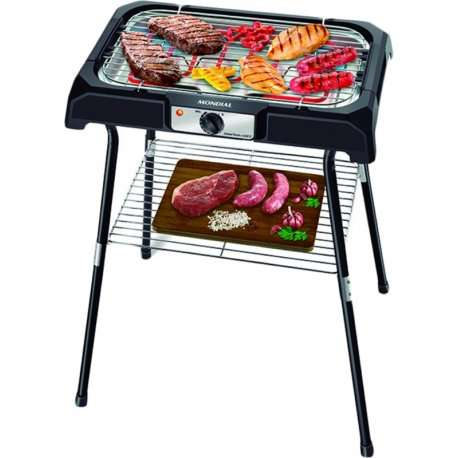 Parrilla eléctrica Mondial CH-06 Grand Steak and Grill II 2000W - 2