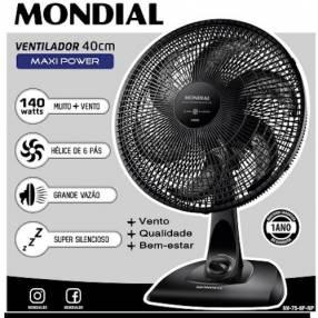 Ventilador Mondial NV-75 de 3 velocidades 40cm 220V