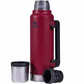 Termo Stanley Classic 1.4 litros rojo pico matero