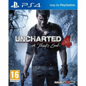 Juego Uncharted 4: A Thief's End para PS4