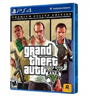 Juego GTA V Premium Online Edition para PS4