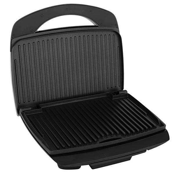 Grill Britania Mega 2 1600w 220v negro plata - 0