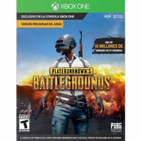 Juego Playerunknown's Battlegrounds PUBG para Xbox One