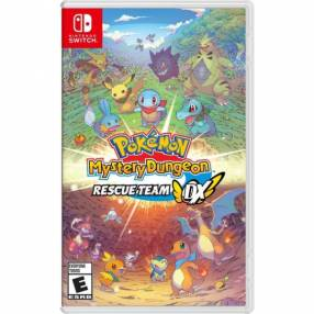 Juego Pokemon Mystery Dungeon Rescue Team DX Nintendo Switch