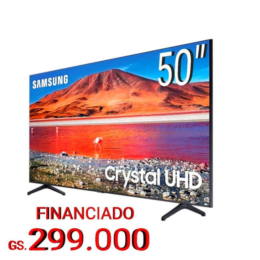 Televisor Smart Samsung 50 pulgadas 4K UHD - 0