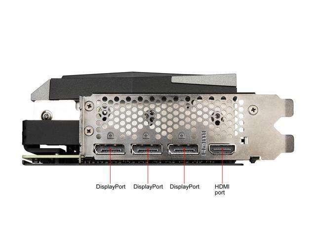 MSI RTX 3070 Gaming X Trio 8GB GDDR6 - 4