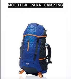 Mochila para camping - 0