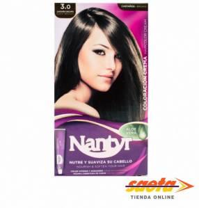 Kit crema color Nantyr castaño oscuro 3.0