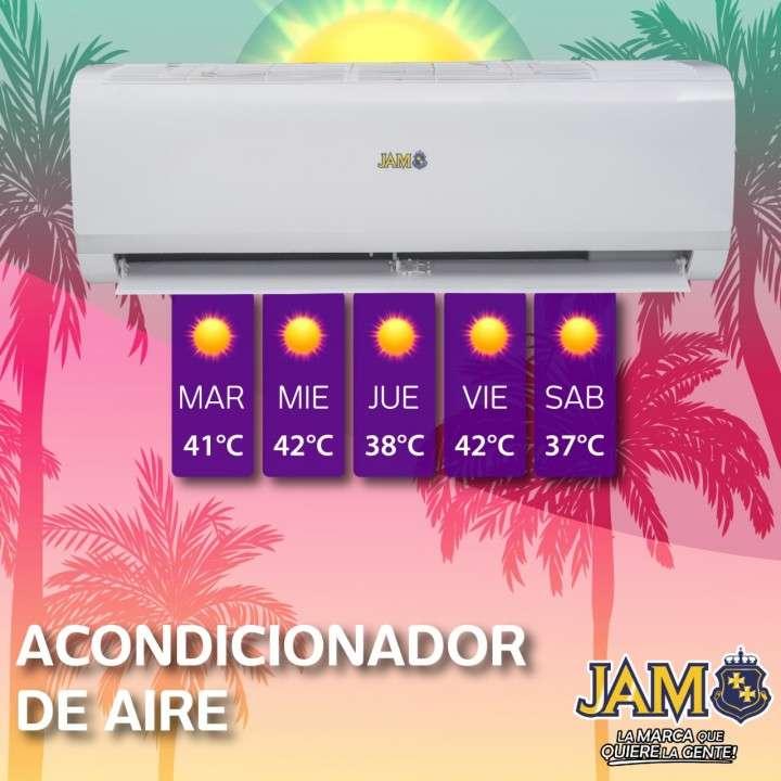 Aire acondicionado JAM 12.000 btu - 0
