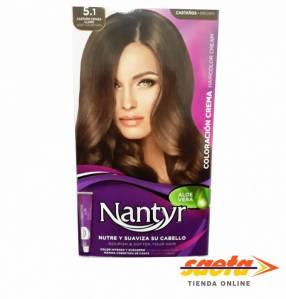 Kit crema color Nantyr castaño ceniza claro 5.1