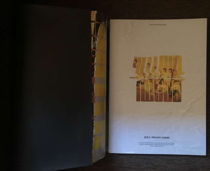 Álbum Clé 2 Yellow Wood Limited Stray Kids - 1
