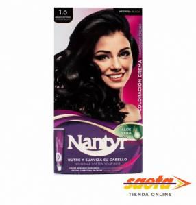 Kit crema color Nantyr negro intenso 1.0