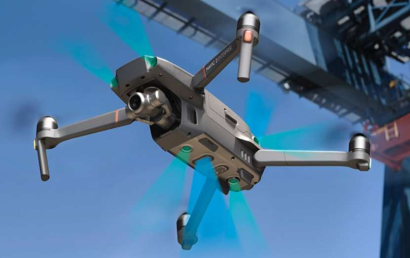 Drone DJI RTF Mavic 2 Enterprise Zoom con controlador Intel - 3