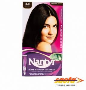 Kit crema color Nantyr castaño 4.0
