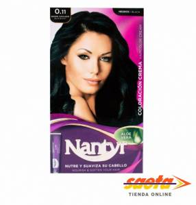 Kit crema color Nantyr negro azulado 0.11