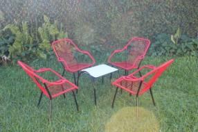 Juego de jardín sillón de cable reposerita 2269