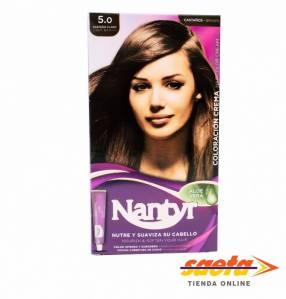Kit crema color Nantyr castaño claro 5.0
