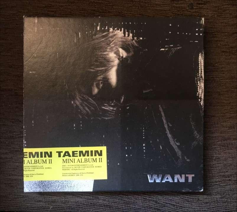 Álbum Want Taemin - 0