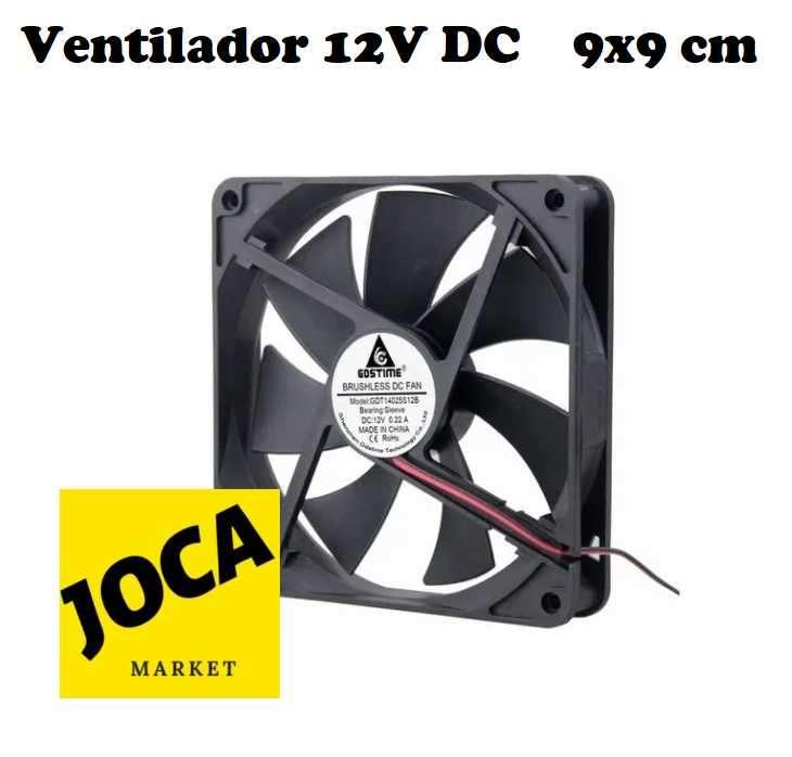 Cooler 9 x 9 cm 12V DC - 0