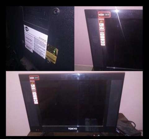 TV LED Tokyo de 21 pulgadas - 1