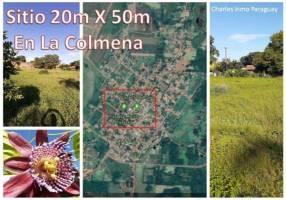 Terreno 20x50 en centro de La Colmena