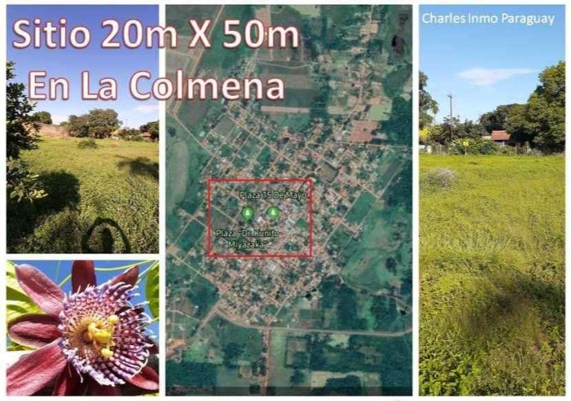 Terreno 20x50 en centro de La Colmena - 0