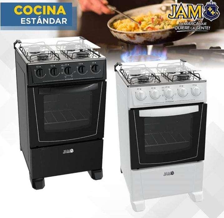Cocina JAM de 4 hornallas - 0