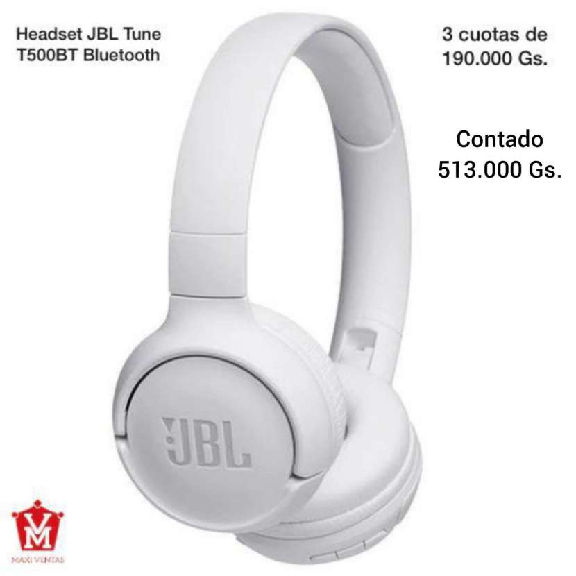 Headset JBL Tune Blanco - 0