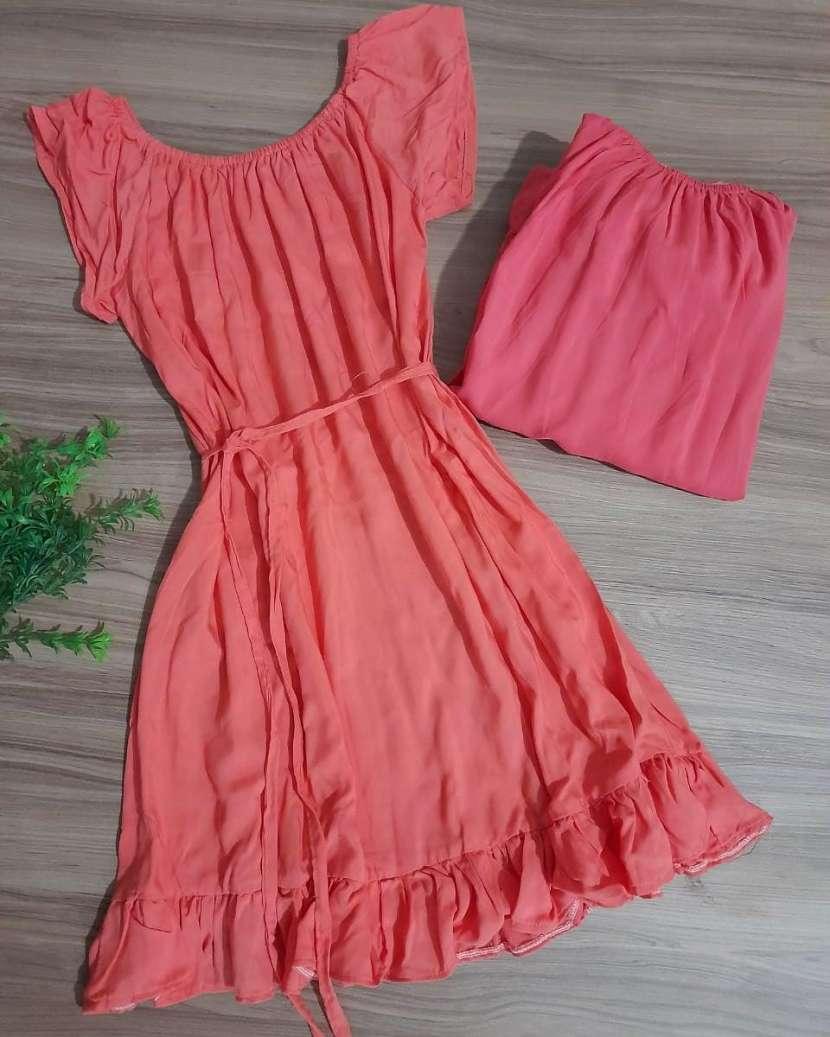 Vestido Viscose - 0