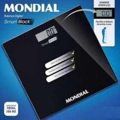 Balanza Digital Mondial Smart Black BL-05 - 2