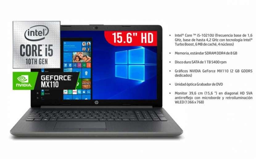 Notebook HP i5 MX110 RAM de 8GB - 0
