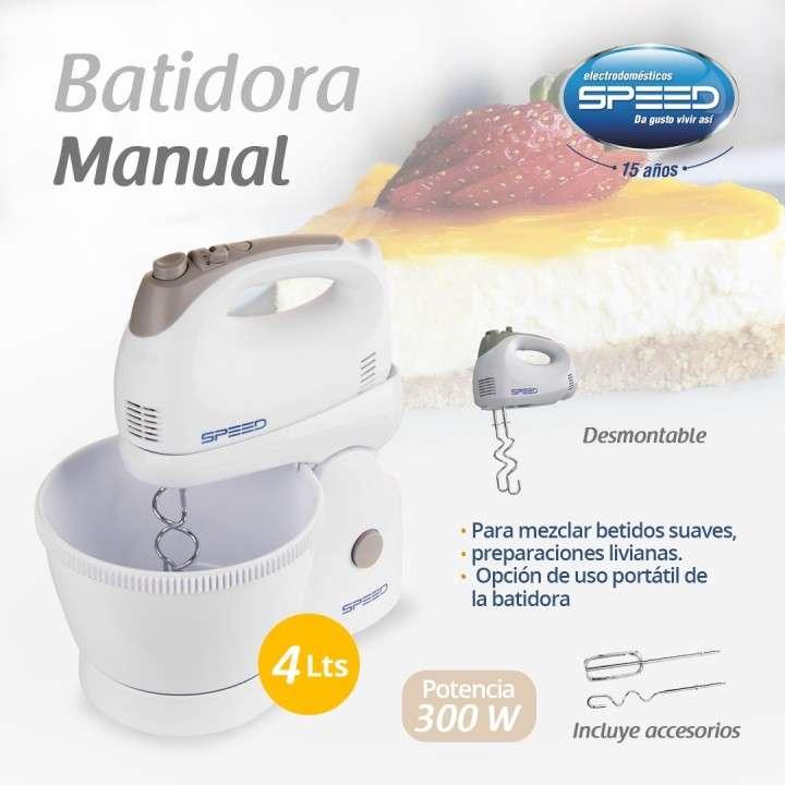 Speed batidora manual 4L - 0