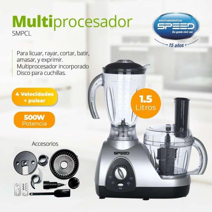 Multiprocesador Speed 500W C/Jarra 1,5L - 0