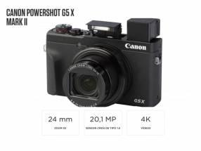 Cámara Canon PowerShot G5 X Mark II