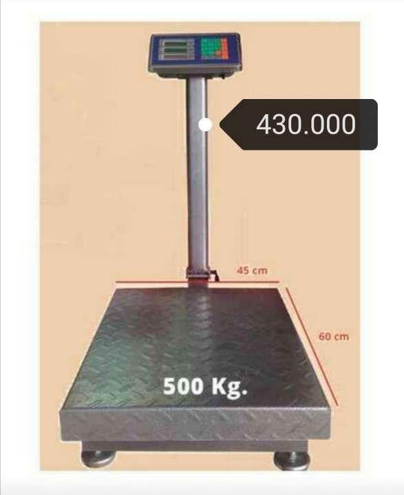 Balanza electrónica de 500 kilos - 0
